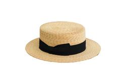 Hat - Art. Soft Boater Black