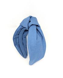 Headband - Art. Knot Denim Headband