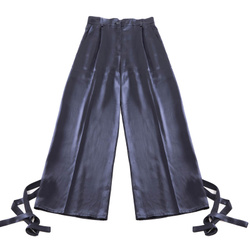 Trousers - Art. Wide leg trousers with optional ties