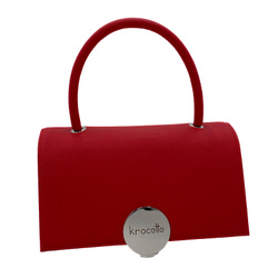 Big Purseface - Art. Top (Red Silver)
