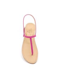 Sandals - Art. Piazzetta Camoscio Fuxia