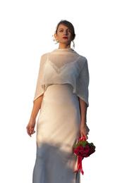 Shawl - Art. Mohair & silk (Cream White)