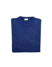 Round Neck Sweater - Art. Blue