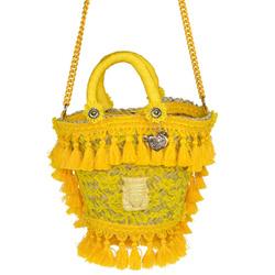 Shoulder Bag - Art. Coffetta Fanciulla Gialla