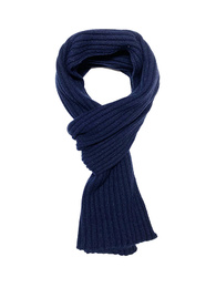 Ribbed Scarf - Art. Dark Blue
