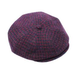 Hat - Art. Peaky cap Harris Tweed 7