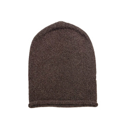 Cuffless Beanie - Art. Brown