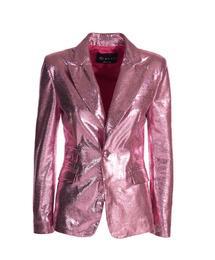 Genuine Leather Jacket - Art. Amman pink laminated