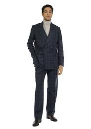 Suit - Art. MEIKO SUIT V3AGT.37FW21-22 - BLUE CHECK