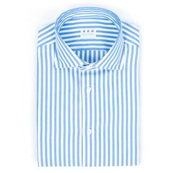 Shirt - Art. Righe Azzurra