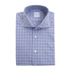 Shirt - Art. Quadri Blu