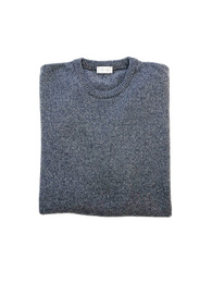 Round Neck Sweater - Art. Grey