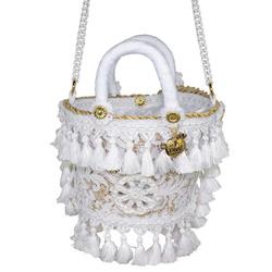 Shoulder Bag - Art. Coffetta Ruota Bianca