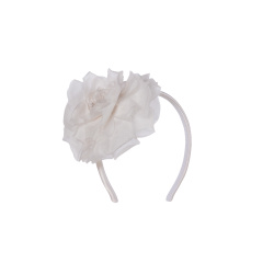 Hairband - Art. White&Fuxia Flower