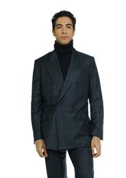 Jacket - Art. MEIKO JACKET V5AGT.61FW21-22 - GREEN CHECK