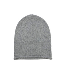 Cuffless Beanie - Art. Light Grey