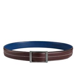 Belt - Art. Vitello Bicolor Bordeaux