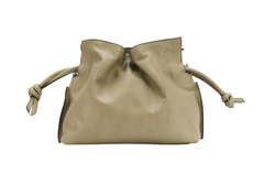 Small Cloud clutch bag in smooth natural grain calfskin