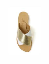 Sandals - Art. Solange Bianco e Oro