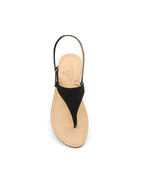 Sandals - Art. Migliera Camoscio Nero