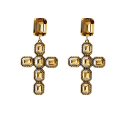 Latin Crosses Earrings