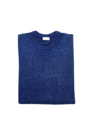 Round Neck Sweater - Art. Black & Blue