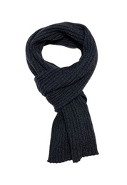 Ribbed Scarf - Art. Dark Grey