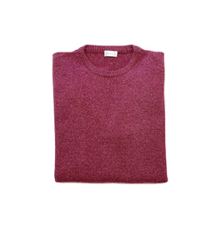 Round Neck Sweater - Art. Antique Red