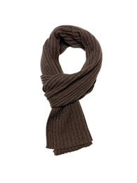 Ribbed Scarf - Art. Brown