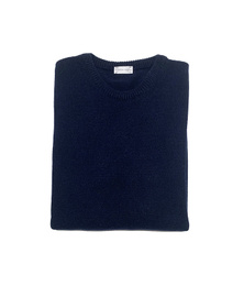 Round Neck Sweater - Art. Dark Blue