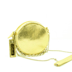 Clutch - Art. Bianca Bag Coconut Gold Bags & Passion collection, a unique piece made entirely by hand.