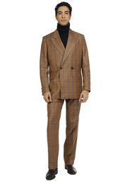 Suit - Art. MEIKO SUIT V7AGT.14FW21-22 - OCHER CHECK
