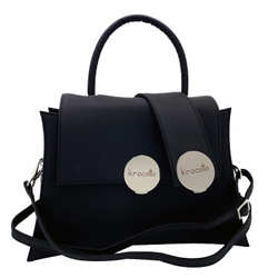 Shoulder Bag - Art. Gala Medium (Black Silver)