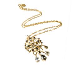 Long Brooch Necklace
