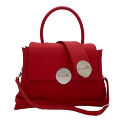 Shoulder Bag - Art. Gala Medium (Red Silver)