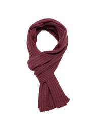 Ribbed Scarf - Art. Antique Red