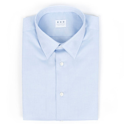 Shirt - Art. Twill No Stiro Celeste