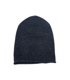 Cuffless Beanie - Art. Dark Grey
