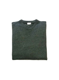 Round Neck Sweater - Art. Dark Green