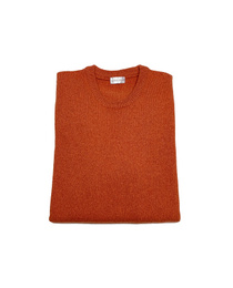 Round Neck Sweater - Art. Orange