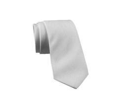 Tie - Art. Pure Colors White