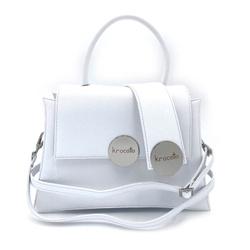 Shoulder Bag - Art. Gala Medium (White Silver)
