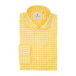 Shirt - Art. Checkered Yellow