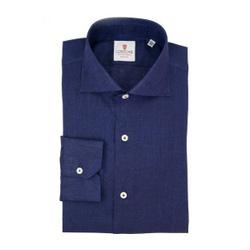 Shirt - Art. Linen Blue