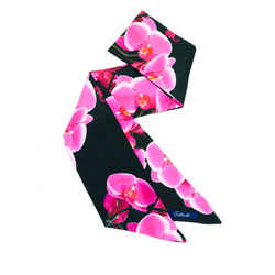 Twilly - Art. Twilly Orchids in Hot Pink and Black