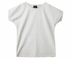 Striped Cotton Canva T-Shirt