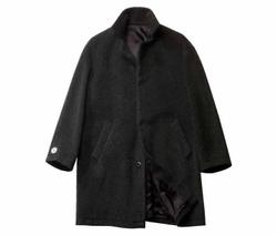 Virgin Wool/Mohair Coat