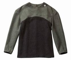 Geometric Knickerbocker mixed Wool Sweater (unisex)