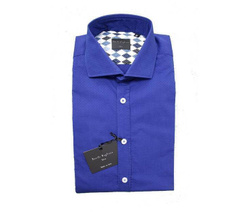 Shirt - Art. French Collar with Slats Holders