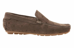 Dark Brown Loafers Shoes - Art. 16704